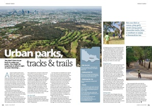 Urban parks, tracks & trails