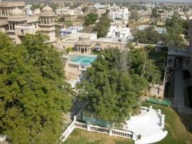 Rooftop, Castle Mandawa, Rajasthan