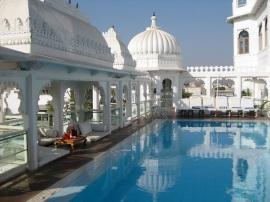Rooftop Pool, Jaipur