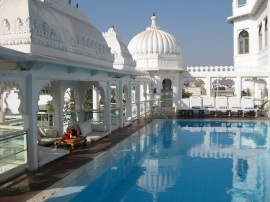 Rooftop Pool, Jaipur