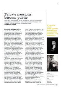 Private Passions Become Public ADFS