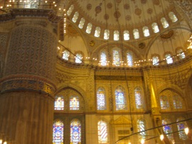 The dazzling Blue Mosque, Istanbul