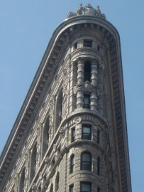 The Flat Iron building,New York