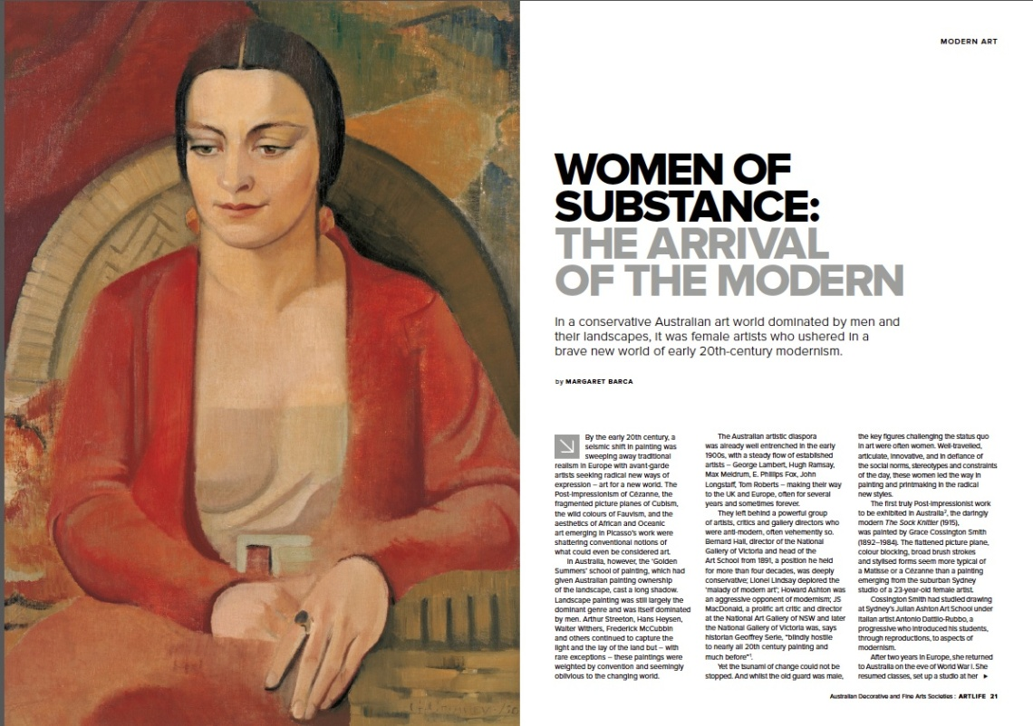 Women artists &the modern