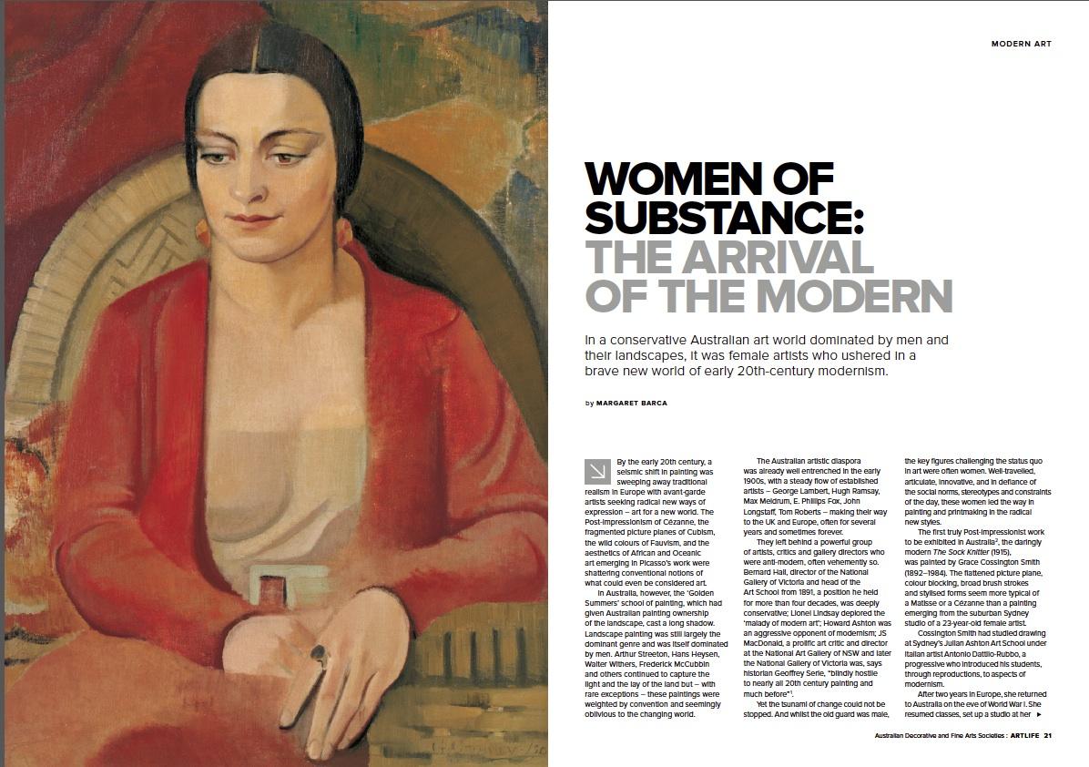 Women artists &the modern