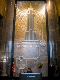 Foyer of the Empire State building
