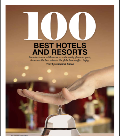 100 Best hotels and resorts
