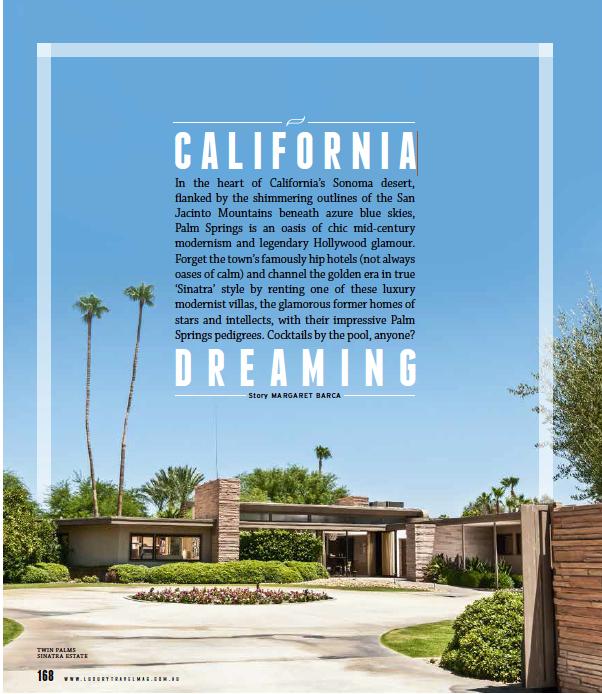 Palm Springs Luxury Travelmagazine