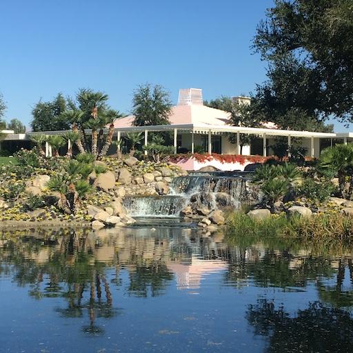 Sunny lands Palm Springs