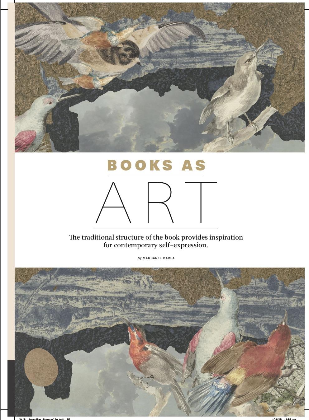 Books asArt -ARtLife magazine margaretbarca